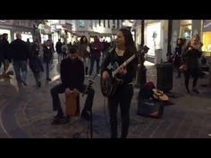 Elvis Presley, Blue Suede Shoes cover - Busking in the streets of Brussels, Belgium - http://streetiam.com/elvis-presley-blue-suede-shoes-cover-busking-in-the-streets-of-brussels-belgium/