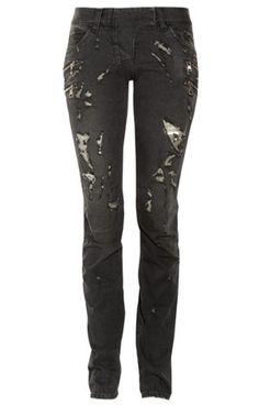 Yeah, dark and #Goth/Punk Jeans <3