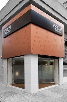 See you outdoor signage , etalbond facade signage v roce 201 Design Exterior, Facade Design, Shop Interior Design, Retail Design, Door Design, Architecture Design, Restaurant Exterior Design, Restaurant Facade, Retail Facade