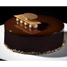 Almond Chocolate Entremet - Antonio Bachour