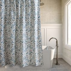 Tommy Bahama Cape Verde Cotton Shower Curtain - Cabinet Accessories at Hayneedle $29.99