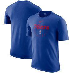 Philadelphia 76ers Nike Practice Legend Performance T-Shirt – Royal 9d0814188