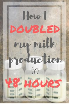 Power pumping, food choices, and a special cup of tea were just a few changes I made to DRASTICALLY increase my breast milk production in order to re-stock my freezer!