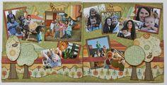 Layout using Kiwi Lane templates Disney Scrapbook, Baby Scrapbook, Scrapbook Cards, Scrapbook Designs, Scrapbook Page Layouts, Scrapbooking Ideas, Photo Layouts, Kiwi Lane Designs, Creative Memories