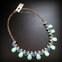 #stitchfix @stitchfix stitch fix https://www.stitchfix.com/referral/3590654 Stitch Fix Bay to Baubles Valeria Teardrop Gemstone Necklace in mint $34