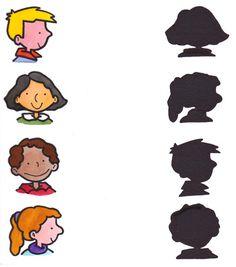 Joc de reconèixer personatges. Pots fer-ne tans com vulguis. Juego de parejas: identificar cada dibujo con su sombra. Teaching Plan, Teaching Tools, Teaching Kids, Animal Worksheets, Child Day, Baby Games, Educational Games, Creative Thinking, Classroom Activities