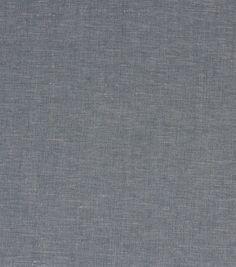 Richloom Studio Upholstery Solid Fabric-Greece Chambray
