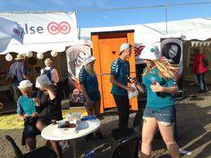 Toiletvognen på Folkemødet