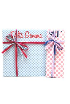 "Delta Gamma 3"" x 8"" and 8"" x 8"" Note Pads from South Bound Sisters"