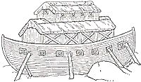 noahs ark mural... janbrett.com has a ton of activities and coloring pages!!