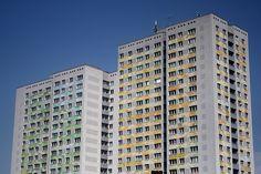 East Berlin Plattenbauten