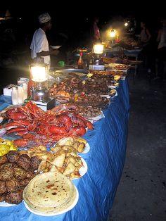 Forodhani food market, Zanzibar by ngari.norway, via Flickr
