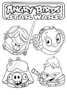 angry birds coloring pages | Angry Birds Star Wars Coloring Pages ~ Free Printable Coloring Pages ...