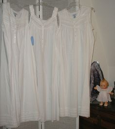 White cotton nightgowns.  You can never have too many.