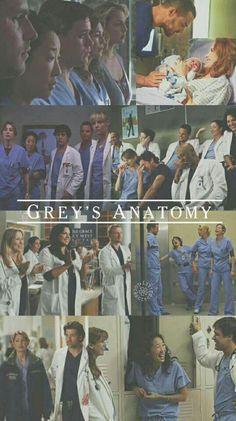 Grey's a anatomy Greys Anatomy Derek, Greys Anatomy Season, Greys Anatomy Cast, Derek Shepherd, Grey Wallpaper, Wallpaper Quotes, Grey's Anatomy Wallpaper Iphone, Calliope Torres, Izzie Stevens