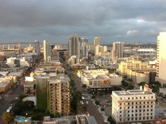 View from Vantage Point in Downtown San Diego #iseecoronadobridge