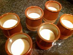Panna cotta, Panacota o Nata cocida - Robot de cocina Mycook Coco, Candle Holders, Candles, Tableware, Deserts, Recipes, Food Processor, Strawberry Fruit, Food