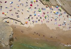 aerial photos of beaches