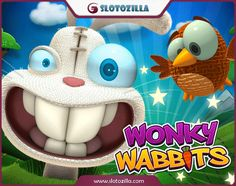 Feed extremely hungry rabbits!  Wonky Wabbits is a 5-reel, 15 pay-lines free slot powered by NetEnt with exciting features and bonuses. If you are looking for a free slot game for fun, then play this amazing cartoon story at slotozilla! You won't be disappointed.