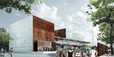 Galeria de Schmidt Hammer Lassen vence competição para projetar o Teatro Vendsyssel, na Dinamarca - 2
