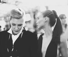 Cate with Rooney as femme fatale