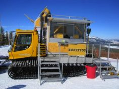 nice structure :: best food truck designs...mammoth mountain burrito out of a snowcat.
