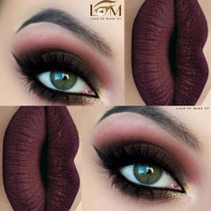 Most Attractive Makeup Ideas for Dark Green Eyes ★ See more: http://glaminati.com/makeup-ideas-dark-green-eyes/