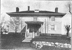 The Shindler House in Orleans, IN, John B. Stetson had this house built for his wife Elizabeth's parents. 1900