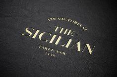 The Sicilian by Bravo Company , via Behance