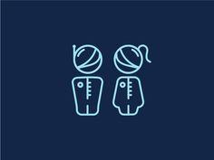 Toilet symbol for astronauts by Pumpkin Juice