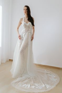Wedding Dresses 2018 Noel Collection . CAPRICE SS18003