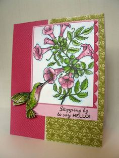Humming By by outtoimpress - Cards and Paper Crafts at Splitcoaststampers