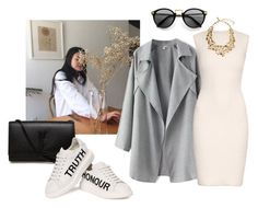 """""""Polexia Song of Truth and Honour"""" by lj-k ❤ liked on Polyvore featuring Yves Saint Laurent, Alexander McQueen and Oscar de la Renta"""