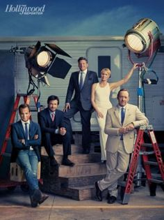 Exclusive Portraits of Netflixs Stars | Miller Mobley Group Portrait for Hollywood Reporter