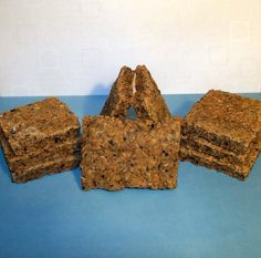 DIY dog treats made from leftover beer grains.  Instead of throwing them away they turn into a tasty treat for your puppy dog.