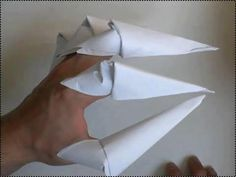How to make spooky claws only with paper. http://www.origami-kids.com/halloween-video/claw-1/HXjzq7Od8Y8.htm