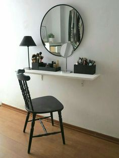 7 Powerful Clever Hacks: Home Decor Pictures Exterior Design home decor classy chic.Home Decor Cozy Reading Areas cheap home decor hacks.Home Decor Eclectic Chandeliers. Cheap Home Decor, Diy Home Decor, Makeup Table Vanity, Vanity Ideas, Mirror Vanity, Vanity Decor, Vanity Set, Diy Vanity Table, Makeup Tables