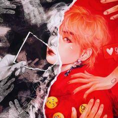 taehyung idol fanart by safe0226