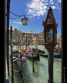 Venice - Gondole e colori.. by sirVictor59, via Flickr