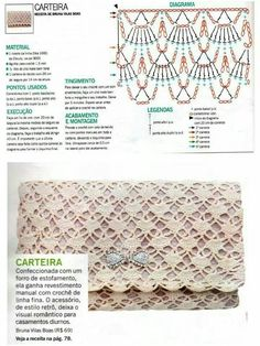 Bag stitch crochet pattern                                                                                                                                                      More