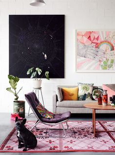 Home of artist Kirra Jamison, from the January/February 2013 issue of Inside Out magazine. Styling by Jason Grant. Photography by Derek Swalwell.