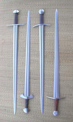 Type Xa swords: Albion Gaddjhalt, Albion Knud, Albion Norman, ATrim Xa.1