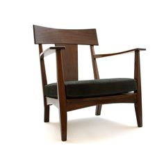 Carlos Motta - CM7 - [ owned version: reclaimed Amendoim (peanut wood) and cow leather seat cushion ]