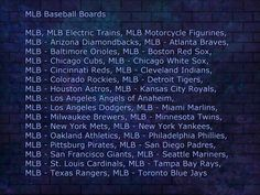 Order of the MLB Boards