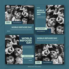 Social Media Template, Social Media Design, Social Media Graphics, Instagram Design, Instagram Feed, Instagram Posts, Layout Template, Templates, Charity Poster