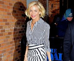 Shop Sienna Miller's GORGEOUS stripe-on-stripe look for just under £21... (Yes, the entire outfit!) http://lookm.ag/eJy6BH