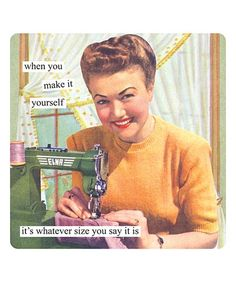 Another great find on #zulily! 'When You Make It Yourself' Refrigerator Magnet #zulilyfinds