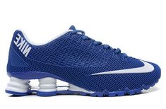 sports shoes 354f6 60259 Mens Nike Shox Turbo 21 White Blue 40-46 Promo Code