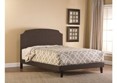 1296-lawler-king-bed-set-w-rails - Free Shipping!