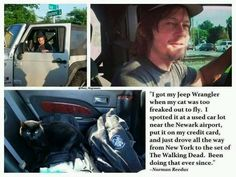 Norman Reedus quotes and thangs.  *credit on photos marykagiannis